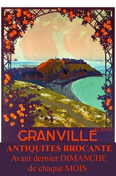 Brocante Granville roc orange aba