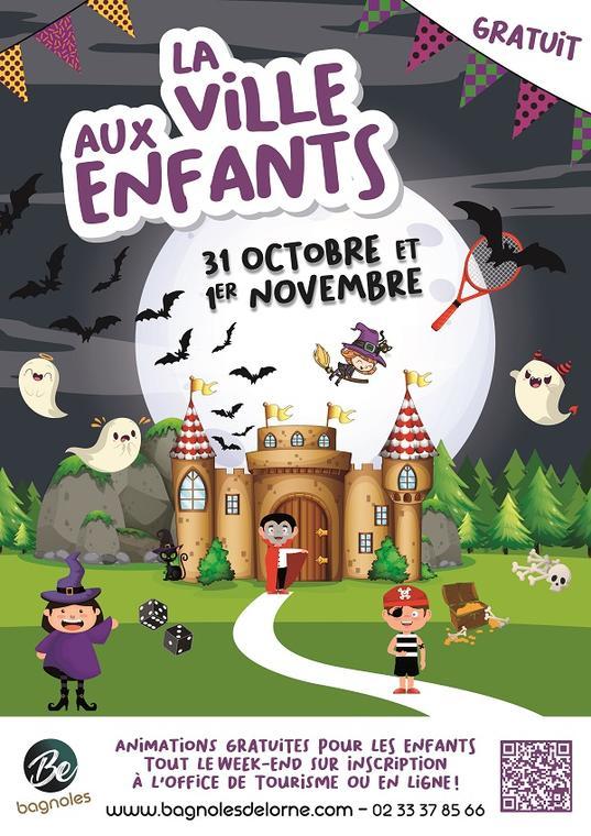 Affiche La Ville aux Enfants_A3