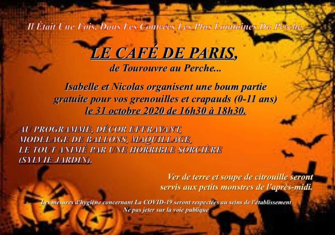 Halloween Café de Paris à Tourouvre