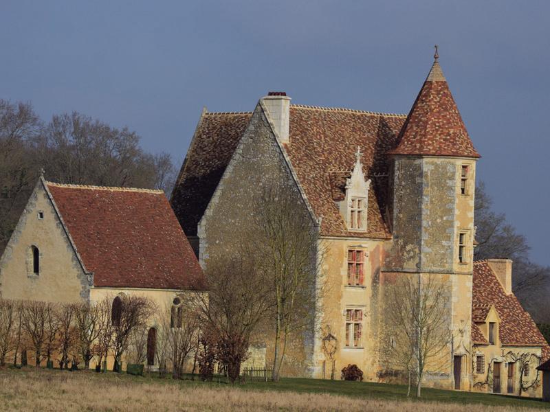 Manoir de la Gauberdière - La Rouge