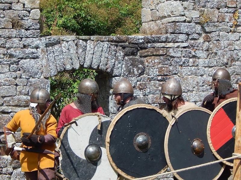 Les vikings et les abbayes