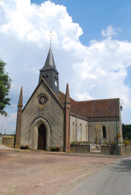 Normandel-église ©CDCdesHautsduPerche