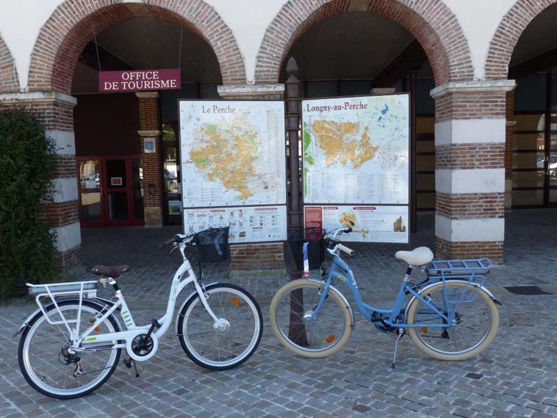 Location de vélos - Longny au Perche