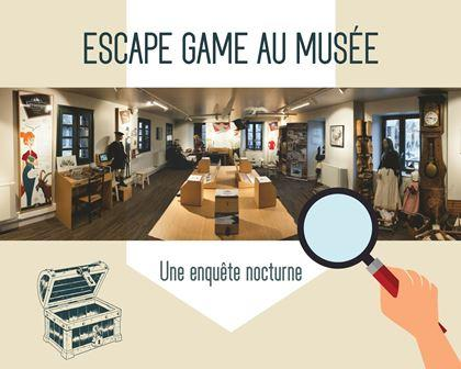 Affiche - ESCAPE GAME MUSEE