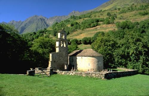 Aure - Chapelle des Templiers