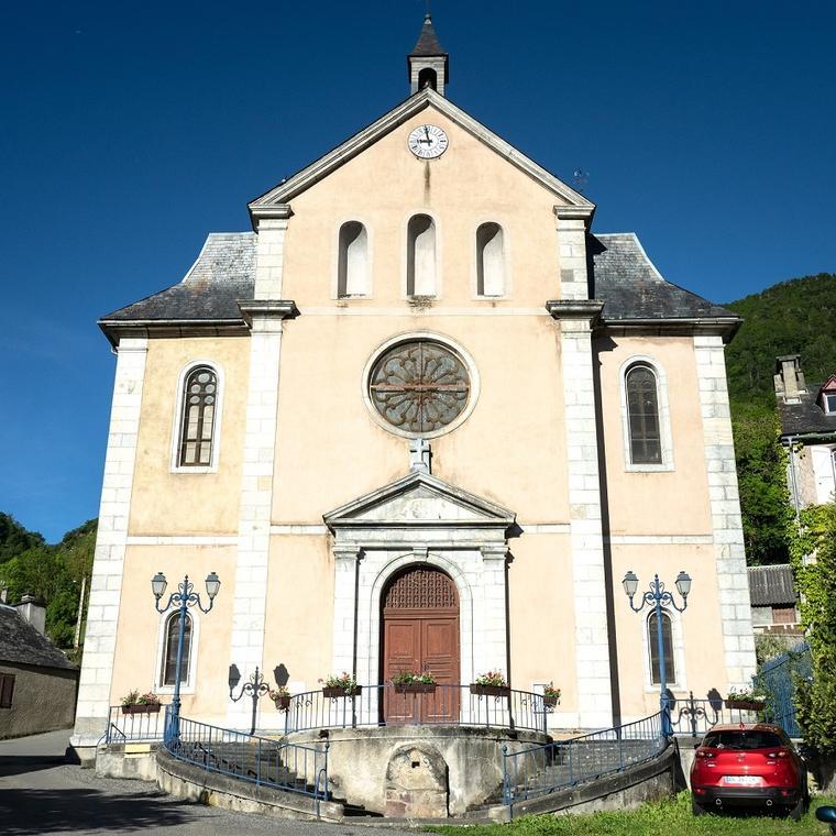 Eglise d'Ancizan
