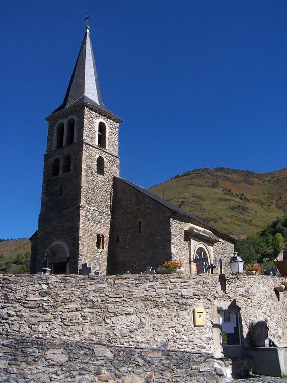 Eglise d'Azet
