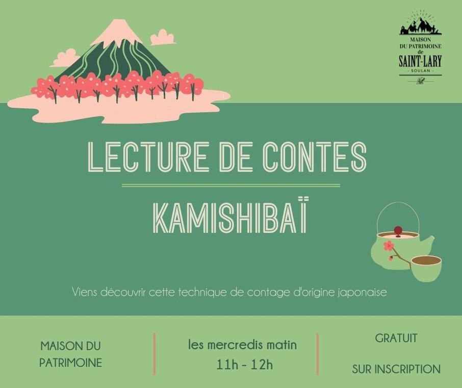 LECTURE de contes kamishibaï