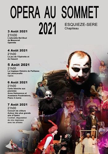Opéra au sommet 2021