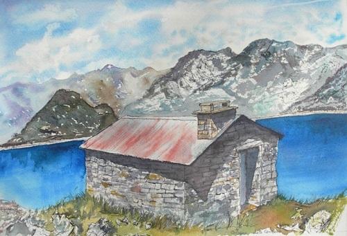 Refuges et cabanes des montagne
