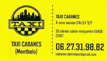 taxi cabanes
