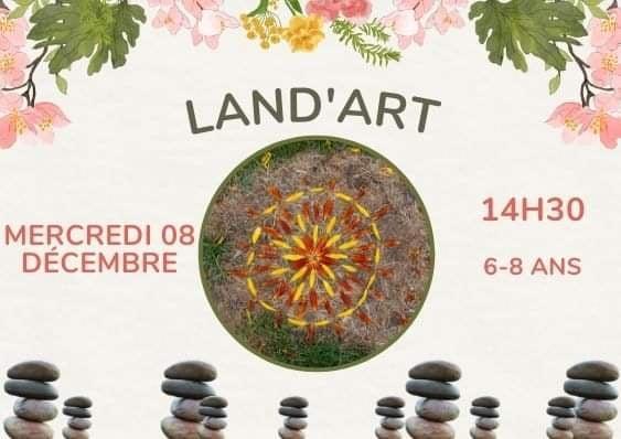LAND'ART 8 DECEMBRE