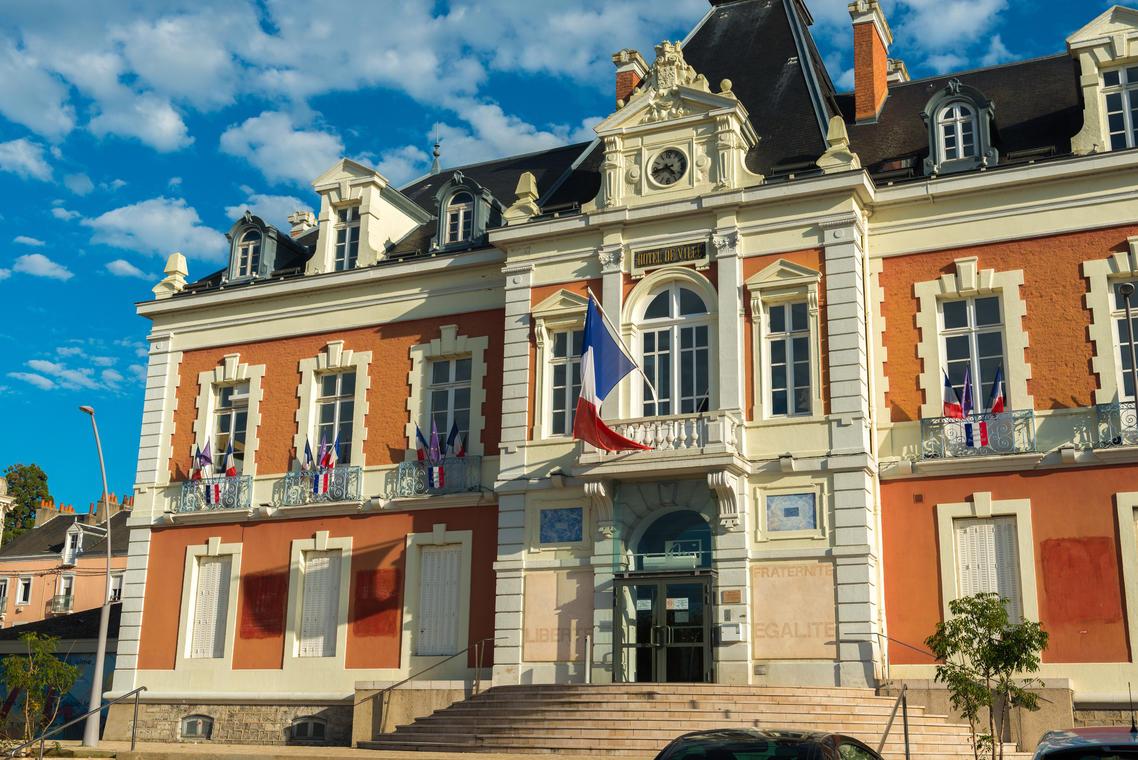 Hôtel de ville de Montceau-les-Mines