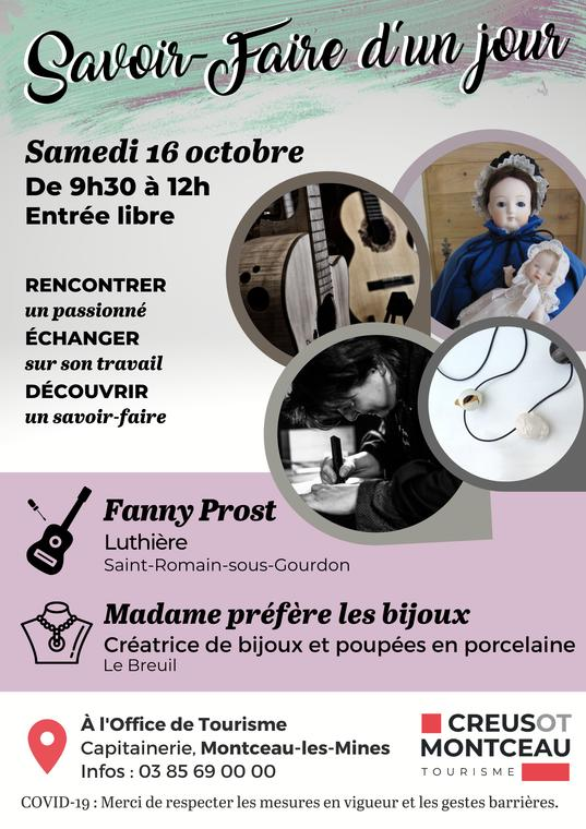Savoir-Faire 16 octobre 2021