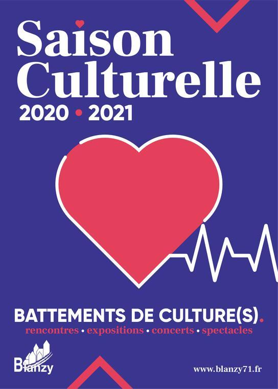 Saison culturelle 2020/2021, Blanzy