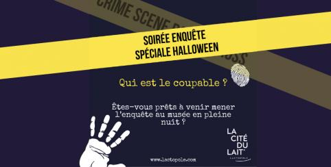Soirée enquête spéciale Cluedo, Halloween - Laval - La Cité du Lait