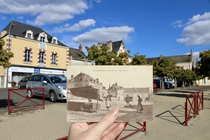 Place Carnot avant/après