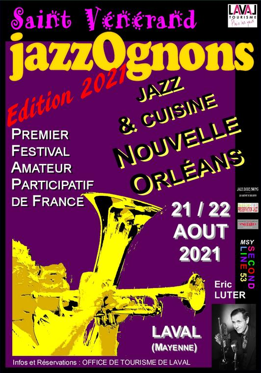 JazzOgnons'édition 2021' Eric LUTER vierge