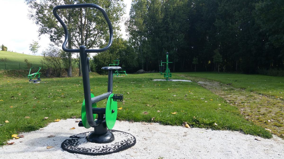 Aire de fitness St Pierre des Nids