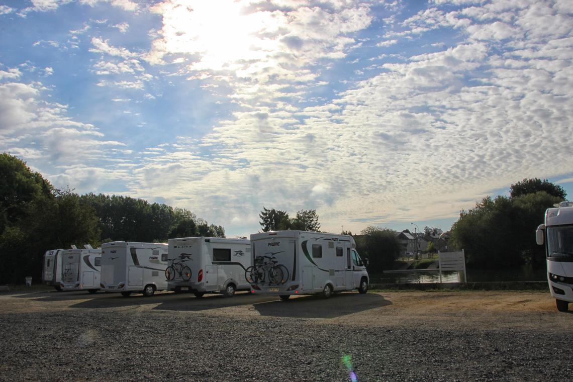 Vallée de la Sarthe - Sablé - Camping car