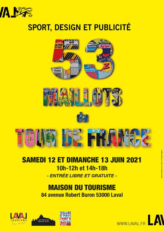 Exposition MAILLOTS TOUR DE FRANCE