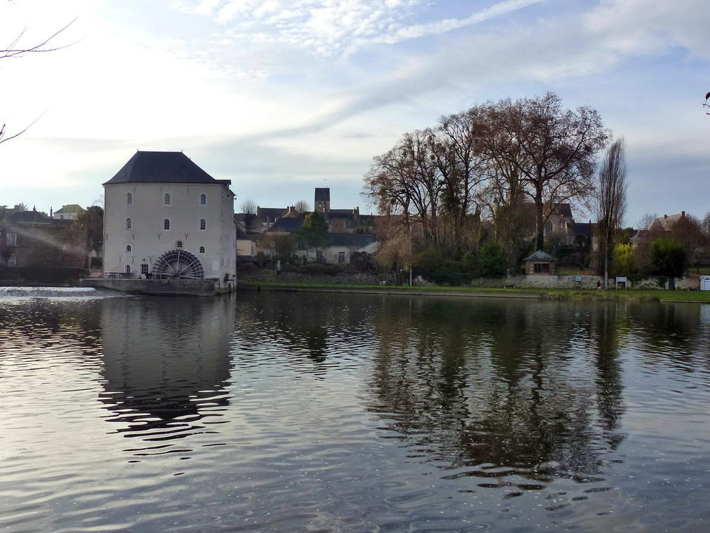 La Sarthe au Moulin de Parcé