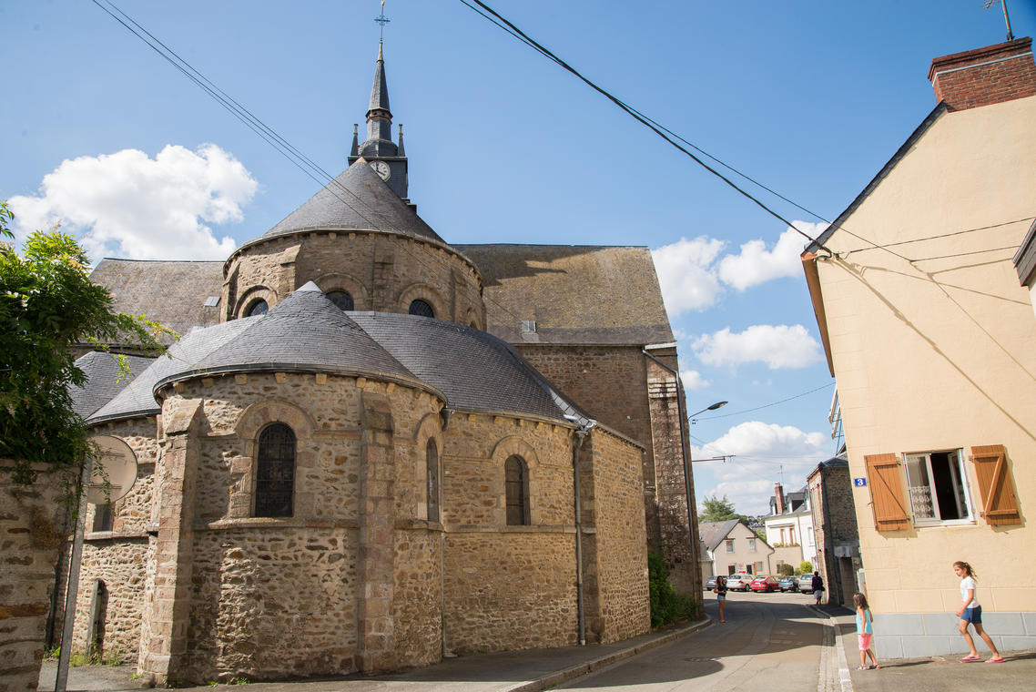 Mayenne Eglise St Martin.