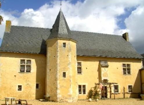 Sabletourisme-Parcé-Manoir de Rousson