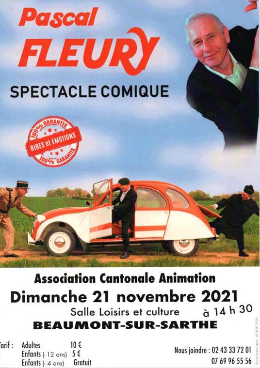 Spectacle comique Beaumont 21 10
