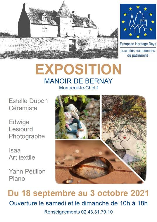 affiche expo Bernay sept 2021