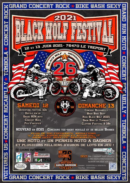 061321 - LE TREPORT - Black wolf festival