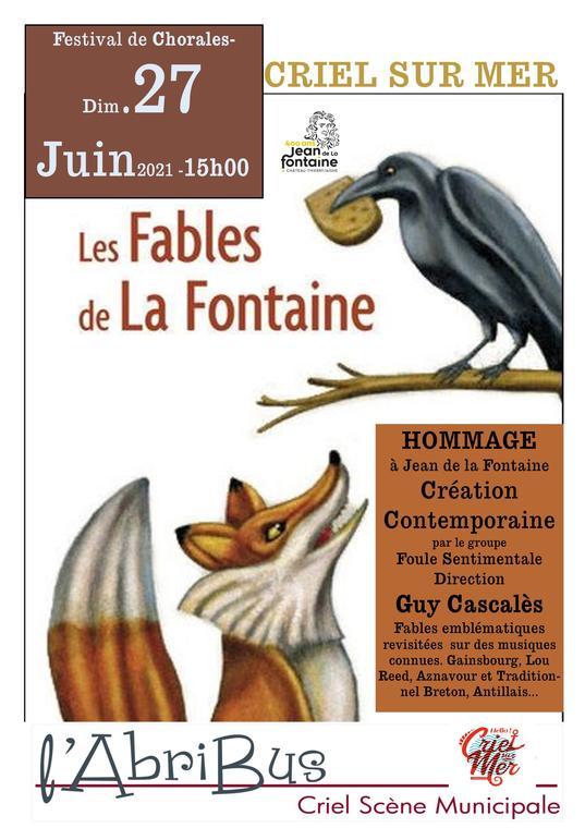 062721 - CRIEL - Les Fables de la Fontaine