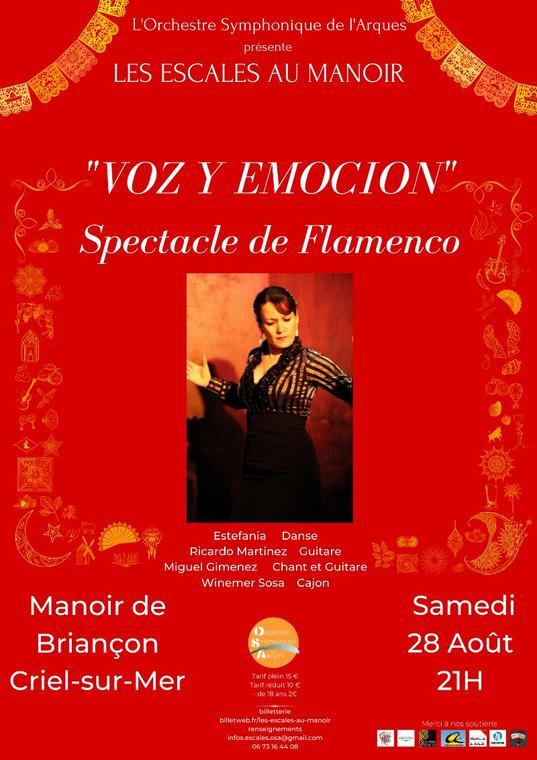 082821 - CRIEL - Spectacle de flamenco