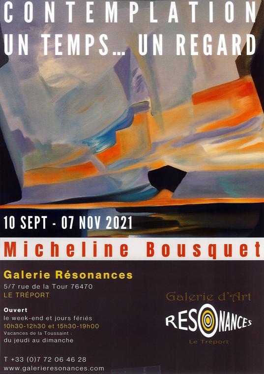 11072021 - LE TREPORT - Galerie résonnances - Micheline Bousquet