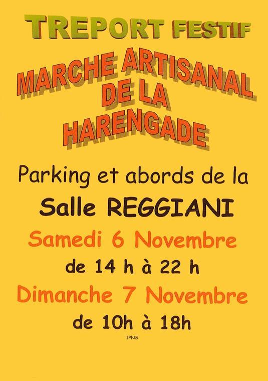 110721 - LE TREPORT - Marché artisanal de la Harengade