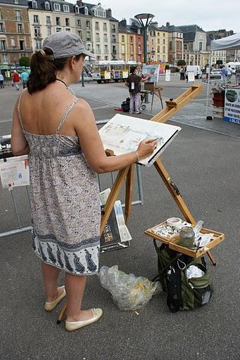 Peintres dans la ville