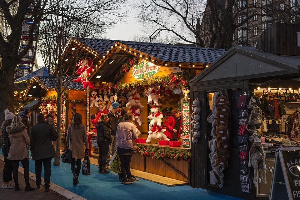 Marché de Noël Pixabay