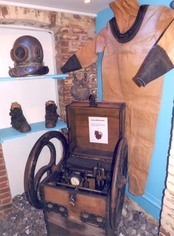Musée du Tréport : scaphandrier