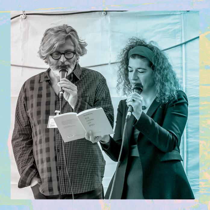 Murielle Szac et Bruno Doucey