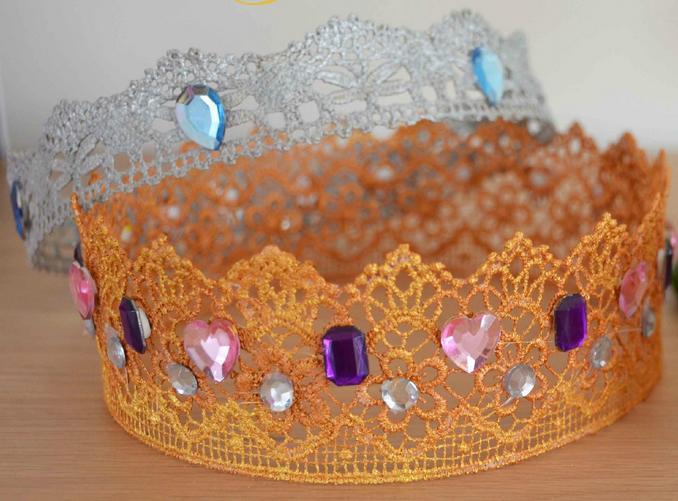Atelier couronne de princesse