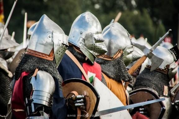 Campement militaire du XVe siècle