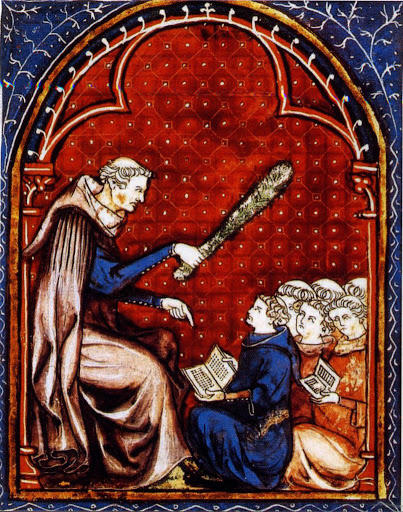 Ecole au Moyen Âge