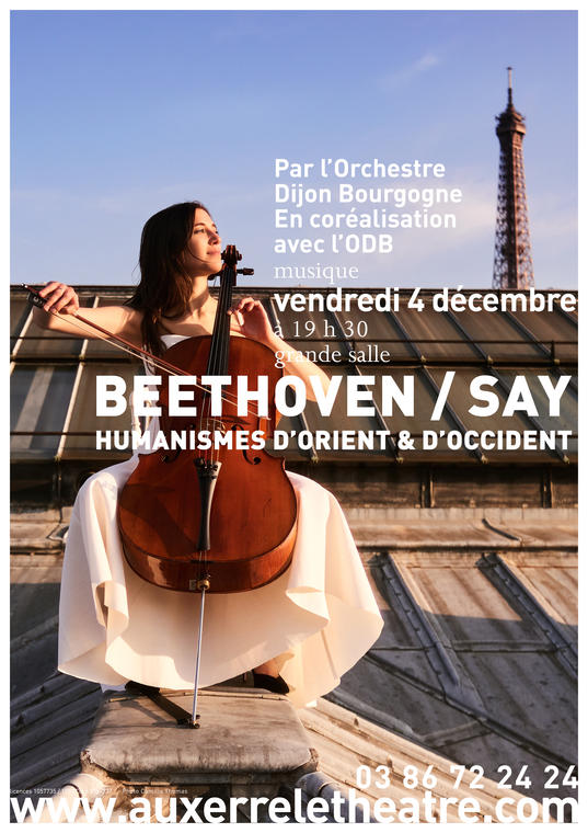 Affiche A3 Beethoven Say