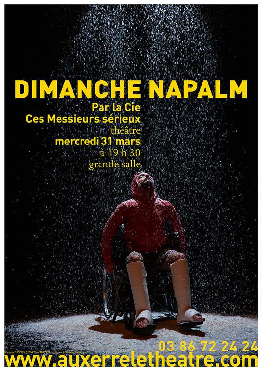 Affiche A3 Dimanche Napalm