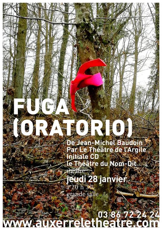 Affiche A3 Fuga (Oratorio)