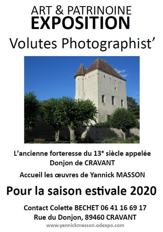 Expo Donjon Cravant Yannick Masson