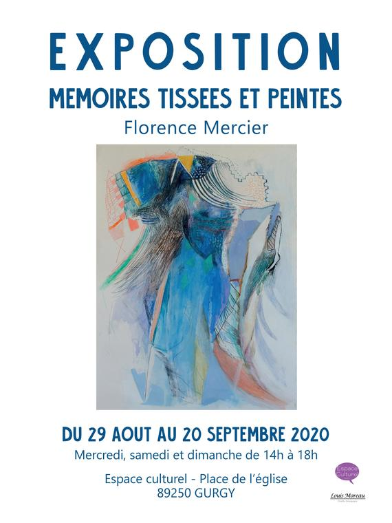 affiche Florence Mercier