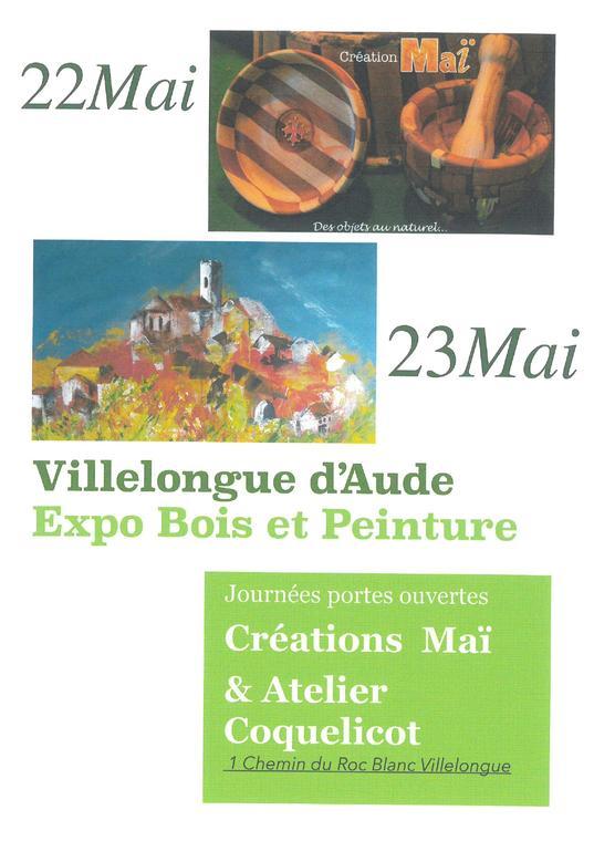 Expo Bois - Peinture 22 et 23.05 (1)