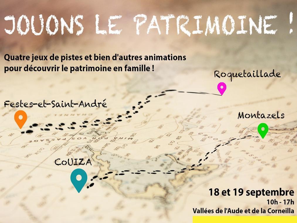 JOUONS LE PATRIMOINE