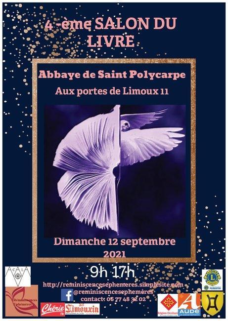 affiche Saint Po Salon du livre